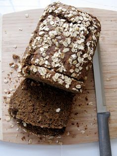 Hope For Healing: Oatmeal Chia Bread gluten free, vegan, nut free, yeast & gum free
