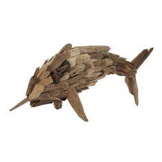 Lazy Susan USA Driftwood Fry Marlin