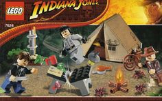 LEGO Indiana Jones Kingdom of the Crystal Skull 7624: Jungle Duel. Released 2008