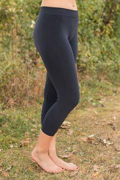 Ahh-Mazing Crop Legging - Ink