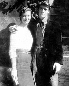 """""""Sylvia Plath and Ted Hughes on honeymoon in Paris. in any age, their story 'would be a chapter torn from the playbook of romantic tragedy'. Photograph: Alamy Stock Photo"""" from The 100 best nonfiction books: No 4 – Birthday Letters by Ted Hughes Bbc News, Ted Hughes Sylvia Plath, Literary Heroes, Zelda Fitzgerald, Scott Fitzgerald, Portia De Rossi, Birthday Letters, Writers And Poets, American Poets"""