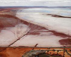 Edward Burtynsky - Silver Lake Operations # 12, Lake Lefroy, Western Australia, 2007