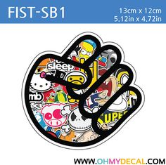 [ Fist - SB1 ] STICKER BOMB SERIES