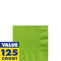 Kiwi Beverage Napkins 125ct