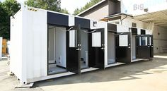 Mobile Wash Cars by BigSteelBox Structures