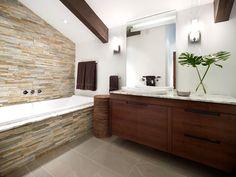 38 meilleures images du tableau Salles de bain Rustiques | Bathroom ...