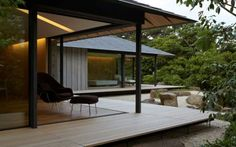 PC Garden House in Japan by Kengo Kuma