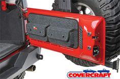 Covercraft Tailgate Pocket Pods for '07-'10 Jeep Wrangler & Wrangler Unlimited JK