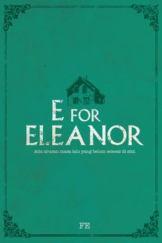 E for Eleanor by Fe.  A mystery romance story - Penerbit Pop