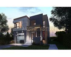 """Architecture St-Martin » 15-2823 Dimensions: 36'-0""""x48'-0"""" Superficie Rez-de-chaussée: 1 215 pi.ca. Superficie Garage: 389 pi.ca. Superficie Étage: 1 306 pi.ca. 3 chambres Prix: 750$"""