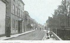 Church St. Newent 1908. Some of my ancestors were from Newent - if you're researching the surnames Leighton or Layton, do get in touch! esjones <at> btopenworld.com