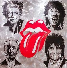 Ronald Mcdonald, Rock, Fictional Characters, Art, Art Background, Skirt, Kunst, Locks, The Rock
