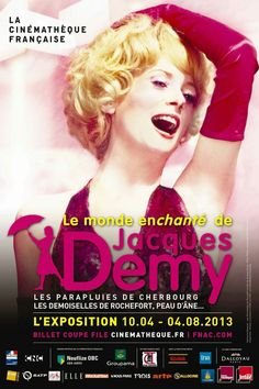 The movies of Jacques Demy.