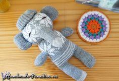 Слоник из перчаток. Мастер-класс (7)