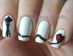 Lacquer Dreams Sleepless In Seattle Inspired Nail Art