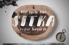 Sitka Brush - Intro Rate by Hustle Supply Co. on Creative Market