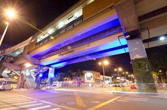 Estación Exposición Metro de Medellín