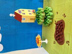 Multifestas e Tal: Festa Peppa Pig e George Pig Cumple George Pig, Peppa E George, George Pig Party, George Pig Cake, Bolo Da Peppa Pig, Cumple Peppa Pig, Peppa Pig Muddy Puddles, Pig Birthday Cakes, 3rd Birthday