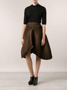 Issey Miyake Waves Tulip Skirt - H. Lorenzo - Farfetch.com