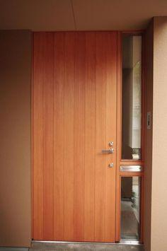 木製玄関ドア・木製サッシ・木製玄関引戸|A+made(エーメイド)|富山|施工例|F邸(富山県)
