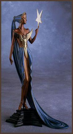 Erte Art Deco Figurine 'Astra'