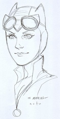 Catwoman by Phil Noto *