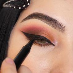 Matte Eye Makeup, Fall Eye Makeup, Bridal Eye Makeup, Eye Makeup Steps, Eye Makeup Art, Smokey Eye Makeup, Skin Makeup, Eyeshadow Makeup, Evening Eye Makeup