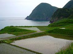 京都府・京丹後市 筆石(ふでし)の棚田