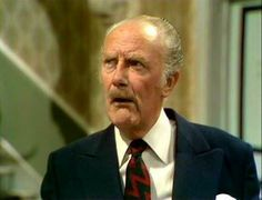 Fridays are tie days . for many British regiments including the Royal Artillery, in which Major Gowen (resident at Fawlty Towers) served. British Tv Comedies, Classic Comedies, British Comedy, British Men, Comedy Tv Shows, Comedy Show, Fawlty Towers, Dad's Army, Old Movie Stars