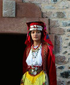 Traditional Albanian clothing from Miridta