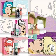 Best of Benefit Holiday 2013 Collectible TIns