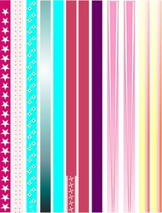 5 Pages  Paper Bead Templates For making Paper by PaperCottagePrinties