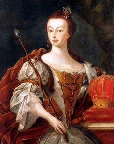 Dona Maria I, rainha de Portugal, por José Leandro de Carvalho (Museu Histórico…