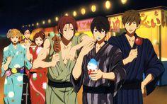 Haruka, Makoto, Rin, Nagisa, Rei and Gou