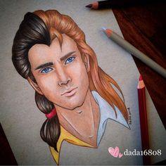 Gaston e Príncipe Adam (aqui acho que caberia a Bela também)