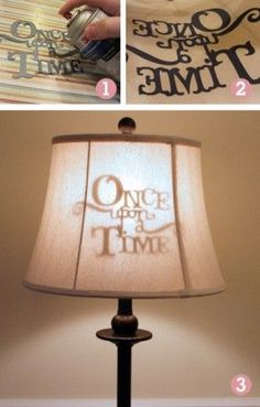 Once Upon A time lamp: