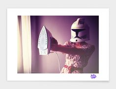 """""""If only I were a jedi"""", Numbered Edition Fine Art Print by Hello i'm Wild - From $42.00 - Curioos"""