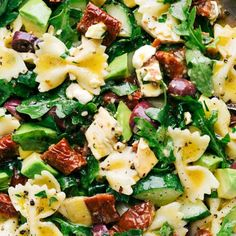 Mediterranean Pasta Salad | Chelsea's Messy Apron