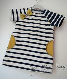JCA 112 - Mes petits habits - Modèle E transformé en robe