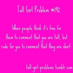 My Tall Girl Problem aka my life story lol I hate shopping malls