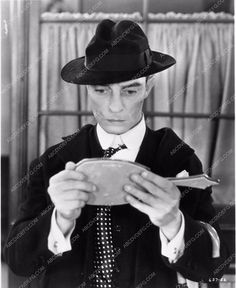 photo Buster Keaton mirror check film Speak Easily 1376-13