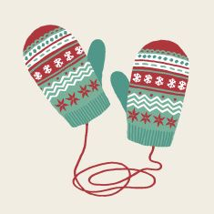 mittens illustration - Google Search
