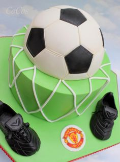 Football nouveauté gâteau toppers noir et blanc toutes les occasions
