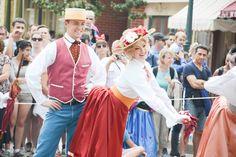 fête les beaux jours on main street USA at disneyland paris, photo by alizea girard