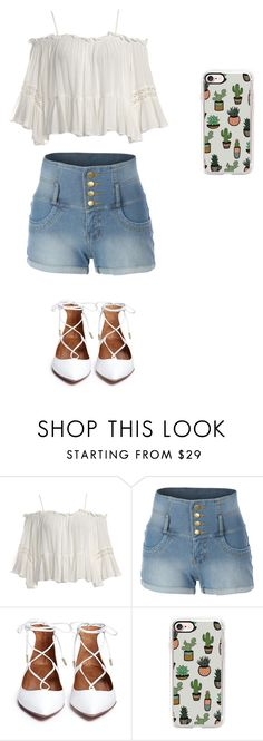 Untitled #8 by beata-apanasewicz on Polyvore featuring Sans Souci, LE3NO and Casetify