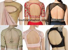 Satya Paul Saree Blouse Designs, blouse back neck designs, net blouse, stylish and trendy blouse designs Blouse Neck Patterns, Blouse Back Neck Designs, Kurti Neck Designs, Fancy Blouse Designs, Designer Blouse Patterns, Bridal Blouse Designs, Dress Designs, Lengha Blouse Designs, Lehenga Blouse