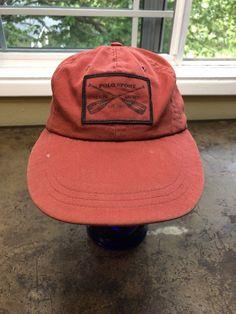 Details about Polo Sport Hat Ralph Lauren Vtg USA Made Fitted Long Bill Red  Cap S e536d1b78