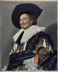 The Laughing Cavalier 1624 -- part of The Wallace Collection