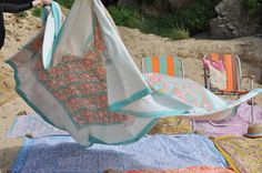 beach blankets at ledansla
