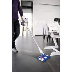 NEW Dyson Hard™ DC56 - Cordless Hardwood Vacuum! just what i have been waiting for... UPGRADE from SwifferVac
